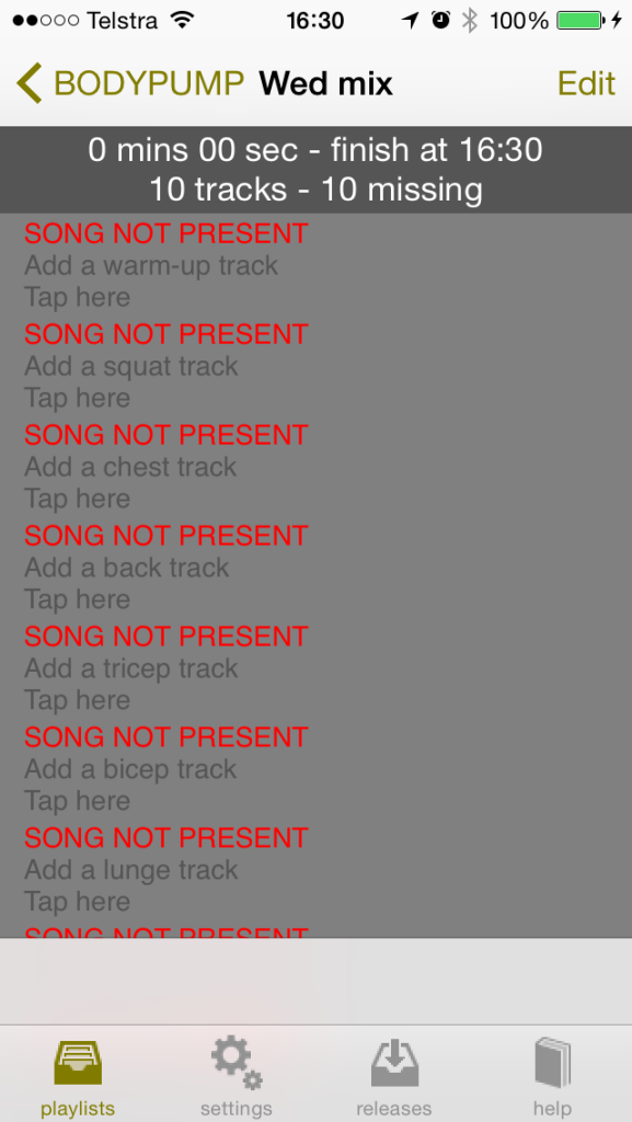 waiting to add songs